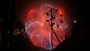 Catherine wheel (firework) - Catherine wheel at Qala, Malta