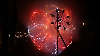 Catherine wheel (firework) Type of firework