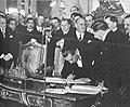 Firma del Tratado de Paz, Amistad y Límites entre Bolivia y Paraguay - Tomás Manuel Elío por Bolivia.jpg