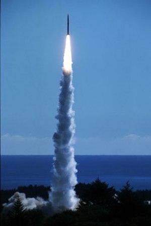 Space Vector Corporation - Falcon SLV drop test. Ait-2 launch from the Kodiak Launch Complex, Alaska. September 15, 1999.