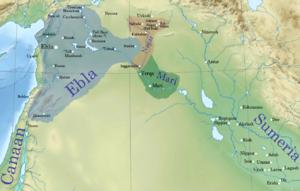 Irkab-Damu - Ebla at the end of Irkab-Damu's reign.
