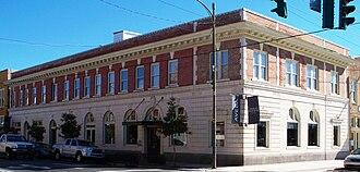 Neill Corporation - Paris Parker Aveda salon in the historic Guaranty Bank Building.