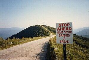 Equinox Mountain - Little Equinox Mountain in 1985