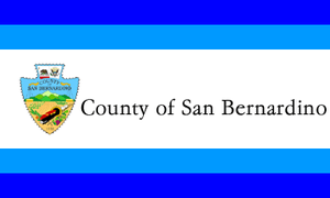 Apple Valley, California - Image: Flag of San Bernardino County, California