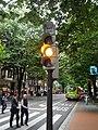 Flashing yellow bus-taxi signal (18185525184).jpg