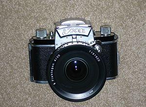 Exakta - CZJ  Flektogon  20mm  /4  ultra wide angle lens