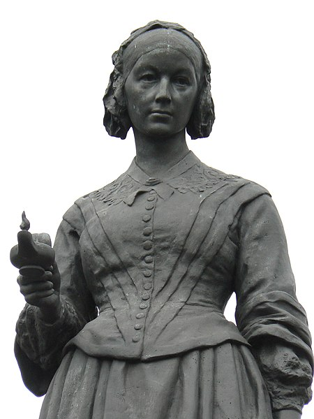 Florence Nightingale 450px-Florence_Nightingale_monument_London_closeup_607
