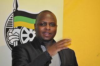 Floyd Shivambu South African politician