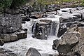 Flume Falls (West Branch of the AuSable River) (Wilmington Flume, Adirondack Mountains, New York State, USA) 2 (19915112958).jpg