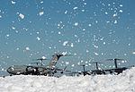 Flurry of foam released at Travis (5).jpg