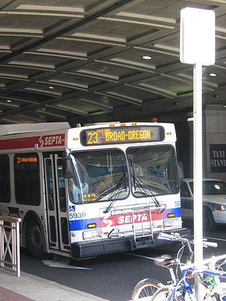 SEPTA Route 23 - SEPTA's former Route 23 trolley, now a bus route