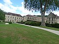 Fontenay Abbey - The Lodgings of the Commendatory Abbots, The Seguin Gallery and The Jail House (35670779362).jpg