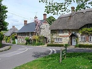 Fontmell Magna - Image: Fontmell Magna geograph.org.uk 1297705
