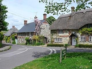 Fontmell Magna Human settlement in England