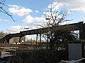 Footbridge over Railway, South of Gatwick Airport Station - geograph.org.uk - 1201598.jpg