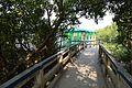 Footbridge with Shelter - Sundarban Biodiversity and Interpretation Area - Taki - North 24 Parganas 2015-01-13 4664.JPG