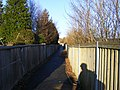 Footpath alongside the A40(T) - geograph.org.uk - 1711724.jpg