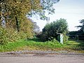 Footpath from Old Rectory to Crunwere Church, Llanteg - geograph.org.uk - 1004119.jpg