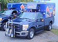 Ford F350 pick up truck B&P Liberator hand truck.jpg