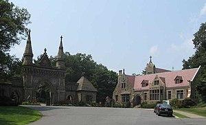 Forest Hills Cemetery - Forest Hills Cemetery entrance
