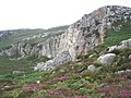 Former quarry, on the side of Holyhead Mountain - geograph.org.uk - 1412059.jpg