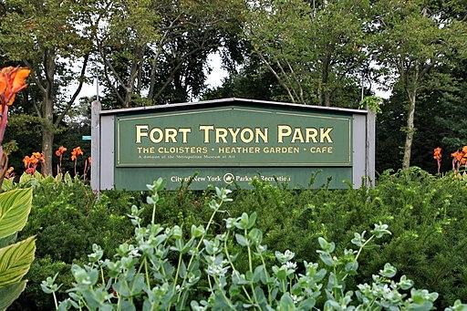 Fort Tryon Park Entrance