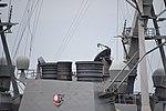 Forward funnel of USS Curtis Wilbur (DDG-54) left rear view at U.S. Fleet Activities Yokosuka April 30, 2018.jpg