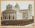 Fotografi föreställande katedralen i Pisa - Hallwylska museet - 102852.tif