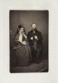 Fotografiporträtt på herr och fru von Stürler - Hallwylska museet - 107644.tif