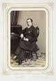 Fotografiporträtt på kyrkoherde Dr Johannes Rohtlieb, 1860-tal - Hallwylska museet - 107835.tif