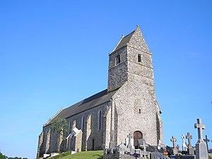 L'église Saint-Patrice.