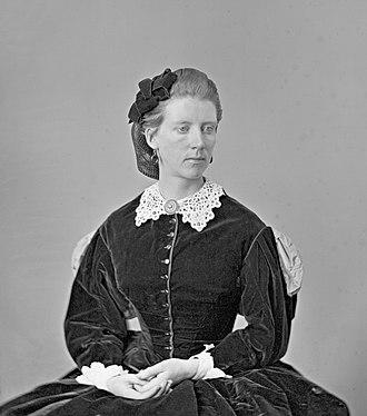 Frances Anne Hopkins - Frances Anne Hopkins, 1863, by William Notman