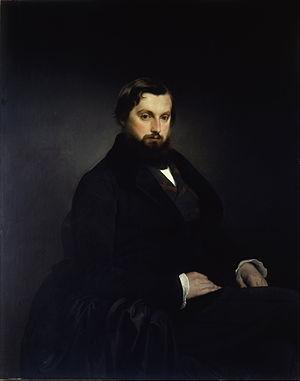 Gian Giacomo Poldi Pezzoli - Portrait of Count Gian Giacomo Poldi Pezzoli painted by Francesco Hayez, 1851