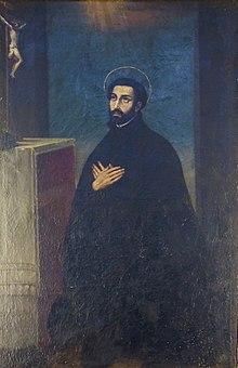 Francesco Vanni, San Francesco Saverio