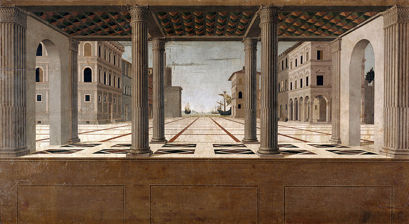 File:Francesco di Giorgio Martini (attributed) - Architectural Veduta - Google Art Project.jpg