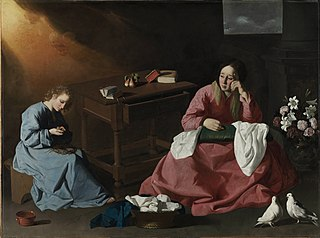 The House of Nazareth - Francisco de Zurbarán 1631
