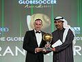 Franck Ribéry - Globe Soccer Awards 2013.jpg