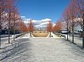 Franklin D. Roosevelt Four Freedoms Park, Roosevelt Island, New York City winter 2014.jpg