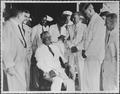 Franklin D. Roosevelt aboard the U.S.S. Indianapolis in Trinidad - NARA - 197104.tif