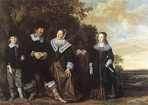 Family Portrait (Frans Hals, Five Persons) - Family Portrait (Five Persons)