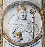 Frari (Venice) - Coro dei Frati - Saint Louis of Toulouse by Pietro Lombardo.jpg