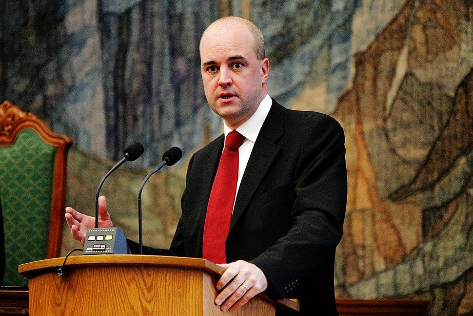 Fredrik Reinfeldt, statsminister Sverige, under Nordiska radets session i Kopenhamn 2006 (1)