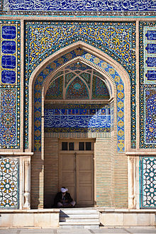Afghanistan, Herat, Moschea del Venerdì decorata da piastrelle maiolicate (XII secolo)