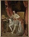 Friedrich von Amerling - Sketch for the Portrait of Franz Joseph in his Coronation Robes - 57.169 - Rhode Island School of Design Museum.jpg