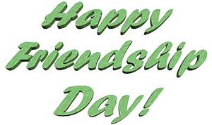 English: happy friendship day