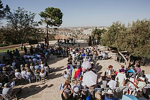 Day of Prayer for the Peace of Jerusalem - People praying for the peace of Jerusalem