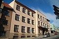 Front view of Commercial Academy of Dr. Albín Bráf and Language School in Třebíč, Třebíč District.JPG