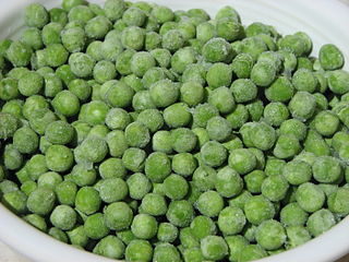 Image of frozen peas