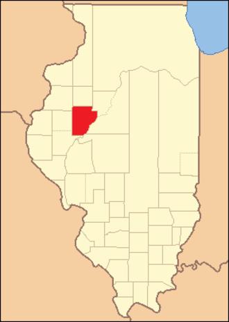 Fulton County, Illinois - Image: Fulton County Illinois 1825