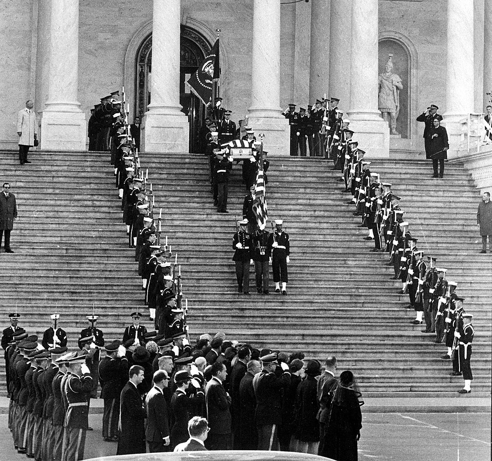 Funeral services for Dwight D. Eisenhower, March 1969